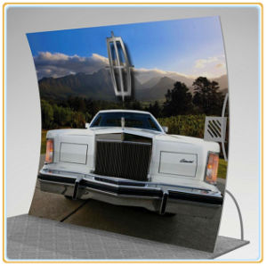 Vertical Curved Tension Fabric Wall Display (10FT) pictures & photos
