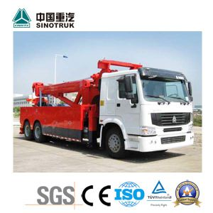 Low Price Sinotruk Road Wrecker Truck of 6*4 pictures & photos