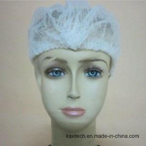 Medical Consumables Supplier Disposable Nonwoven Mob Cap / Bouffant Cap / Hair Nets pictures & photos