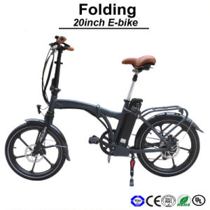 Super High Level Mini Bike Quick Folding Bike 20inch Size Electric Bike (TDN12Z) pictures & photos