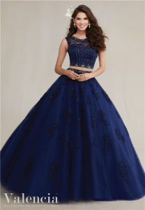 The New Two-Piece Ladies Cocktail Dress Quinceanera Prom Dress pictures & photos