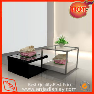 Metal Floor Clothes Shop Display Table pictures & photos