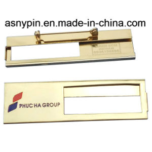 Metal Name Tag Reusable Name Badge pictures & photos