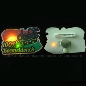 Hot Products LED Flashing Magnetic Pin with Customized Design (3161) pictures & photos
