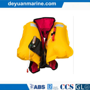Marine Safety Lifejacket 275n Neoprene Automatic and Manual Inflatable Lifejackets with Good Price pictures & photos