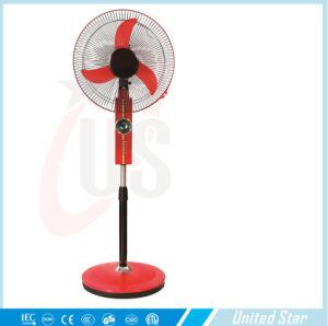 Solar AC DC Rechargeable Fan Standing Fan Table Fan pictures & photos