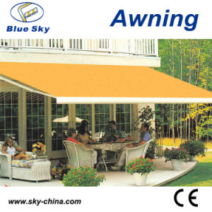 Outdoor Polyester Full Cassette Retractable Awning (B4100) pictures & photos
