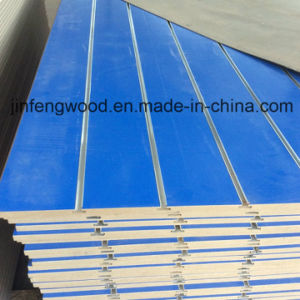 Jewelry Blue Melamine MDF with 7 Grooves Slot pictures & photos