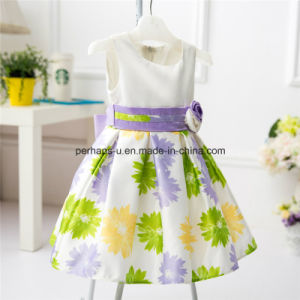 Fashion Flower Lovely Princess Girls Dress Kids Dress Best Selling pictures & photos