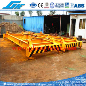 20FT 35t Semi-Automatic Frame Container Spreader pictures & photos