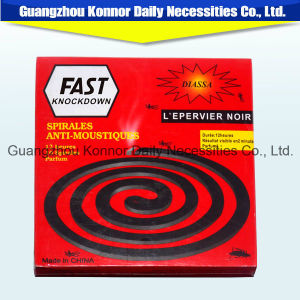Brand Knock Down 130mm Mosquito Repellent Black Mosquito Coil pictures & photos