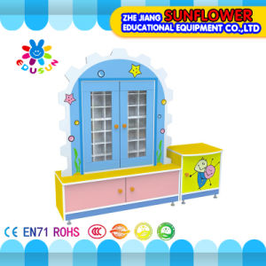 Animal Modeling Cartoon Cup Cabinet, Cup Shelf, Wooden Rack (XYH12142-2) pictures & photos