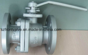 2PC Flanged Floating Ball Valve-Manual Ball Valve pictures & photos