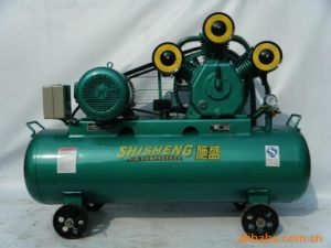 Piston Air Compressor with Tank pictures & photos
