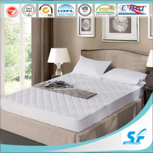 Pure Polyester Stain Resistant Waterproof Mattress Protector pictures & photos