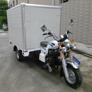 3 Wheel Motorcycle with Box Cargo Tricycle with Cooling Box pictures & photos