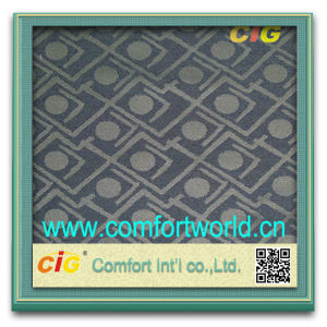 Pretty Shuttle Jacquard Auto Bonding Fabric Textile pictures & photos