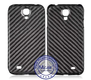 Best Quality Competitivie Real Carbon Fiber Cover for Samsung Galaxy S4 pictures & photos