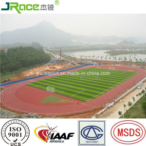 Good Weather Resistance Running Track Surfacing Rubber Athletic Track pictures & photos