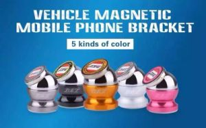 360 Degree Rotation Magnetic Mobile Phone Holder Car Mount pictures & photos