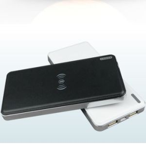 Qi Wireless Charging Pad 10000mAh Qi Wireless Power Bank pictures & photos