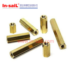 Shenzhen Supplier Brass Hexagonal Threaded Spacers M5-M20 pictures & photos