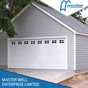 New Design Steel Garage Door with PU Foaming Inside pictures & photos