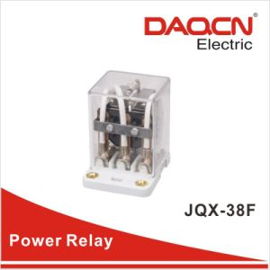 30A 40A 11pins Three Change Over Power Relay (JQX-38F)