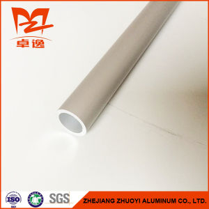 Aluminum Profile of Sand Blasting Anodized Tube pictures & photos