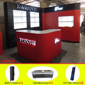 Professional Design Prtable Reusable Aluminum Exhibition Booth pictures & photos