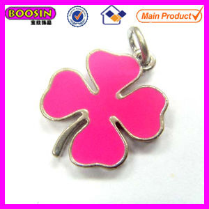 Chinese Enamel Four Leaves Lucky Clover Pendant #11944 pictures & photos