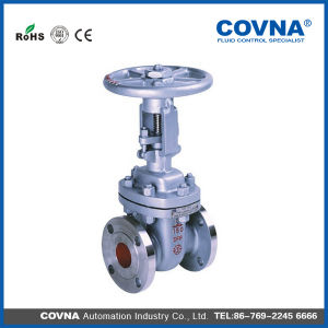 Cast Iron Flange Type Non-Rising Stem Soft-Sealing Gate Valve pictures & photos