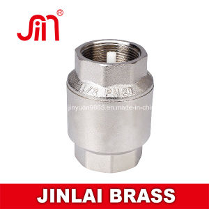 Brass Spring Check Valve-Pn20 Nylon Core (JL-365)