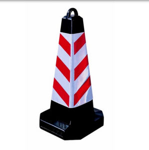 75cm Recycled Rubber Traffic Cones pictures & photos