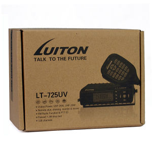 The Smallest Design with Fan 25W Dual Band VHF UHF Mobile Radio Lt-725UV pictures & photos