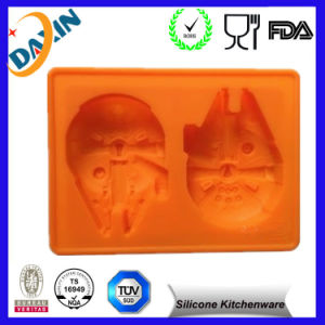 Wholesale Custom Fancy Custom FDA Personalized Silicone Ice Cube Tray pictures & photos
