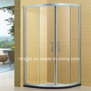 Aluminium Frame Simple Family Glass Shower Cabin (NJ-026) pictures & photos