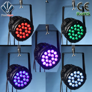 High-Brightness 18X12W RGBWA+UV 6in1 Stage LED PAR Can Light pictures & photos