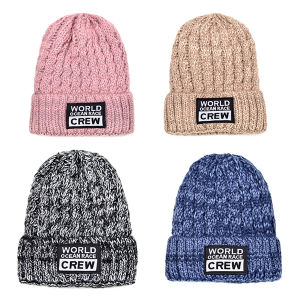 Winter Custom Knitted Beanie Hat pictures & photos