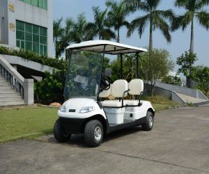 New Model 4 Wheels Electric Golf Club Cart pictures & photos