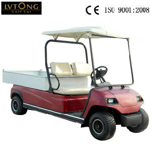 Battery Powered 2 Seaters Electric Delivery Cart pictures & photos