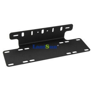 B010 4X4 SUV Jeep 4WD Black License Plate Mount Frames Bracket for off-Road LED Driving Light Bar pictures & photos