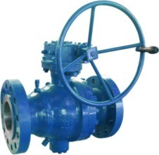Class 600 Cast Steel Trunnion Flanged Ball Valve