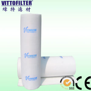 Synthetic spray Booth Ceiling Filter Media 600g EU5 Spray Booth Ceiling Air Filter Rolls pictures & photos