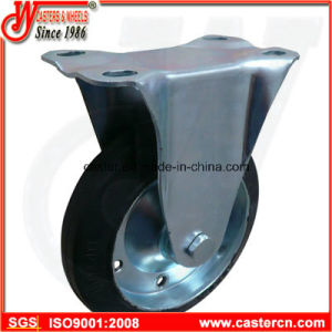 Economical Japanese Rubber Caster with Elastic Rubber Wheel pictures & photos
