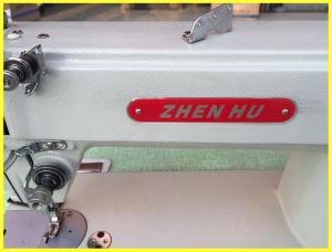 Zhenhu High Speed Flat Bed Lockstitch Sewing Machine (ZH-202) pictures & photos