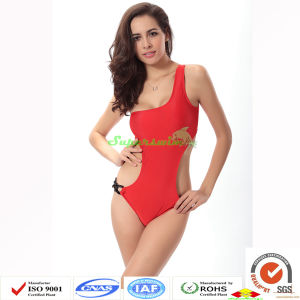 Women One-Piece Swimwears Sexy Cutting pictures & photos