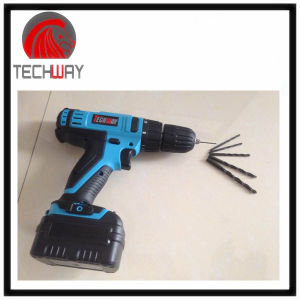 10.8V Electric Cordless Drill, Screwdriver with 1500mAh Rechargeble Li-ion Battery pictures & photos