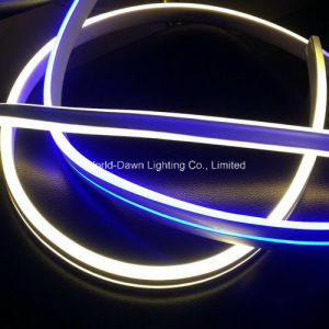 High Brightness Double Side Lighting LED Neon Flex with 2 Years Warranty (WD220-DS2W-2835-120L-NFL) pictures & photos