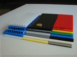 Polypropylene Corrugated Sheets pictures & photos